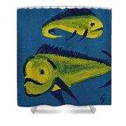 Florida Fish Shower Curtain