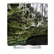 Florida Grotto Shower Curtain