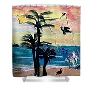 Florida Images Shower Curtain