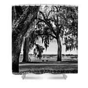 Florida Interior From Bok Gardens Shower Curtain