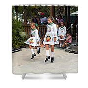 Florida Irish Dancers Shower Curtain