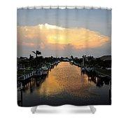 Florida Life Style Shower Curtain