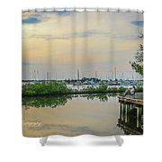 Florida Lifestyle Shower Curtain