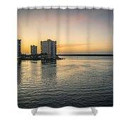 Florida Living Shower Curtain