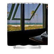 Florida Lunch Shower Curtain