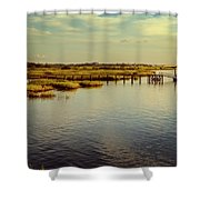 Florida Morning Shower Curtain