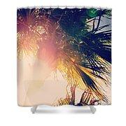 Florida Palm Shower Curtain
