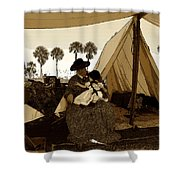Florida Pioneers 1800s Shower Curtain