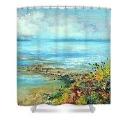 Florida Shore Shower Curtain