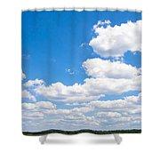 Florida Sky - Tallahassee, Florida Shower Curtain