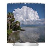 Florida Mountains Shower Curtain