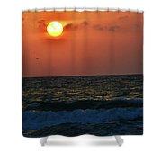 Florida Sunset 1 Shower Curtain