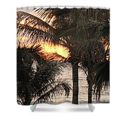 Florida Sunset 2 Shower Curtain