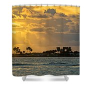 Florida Sunset-3 Shower Curtain