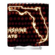 Florida - The Sunshine State Shower Curtain