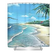 Florida Treasure Shower Curtain