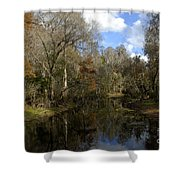 Florida Wetlands Shower Curtain