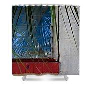 Florida Window Shower Curtain