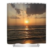 Florida's West Coast - Clearwater Beach Shower Curtain