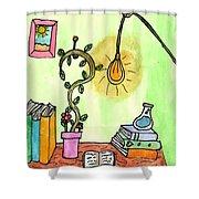 Florist Office Shower Curtain