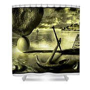 Flotsam And Jetsam Shower Curtain