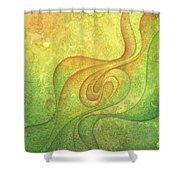 Flow #9 Shower Curtain
