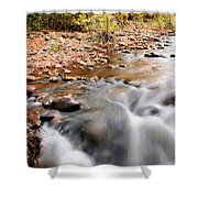 Flow In Sedona Shower Curtain