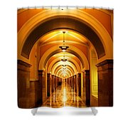 Flow Of Time Shower Curtain