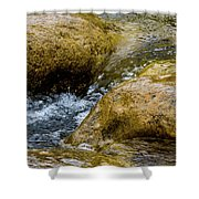 Flow Through And Eddy Shower Curtain