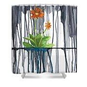 Flower #1 Shower Curtain
