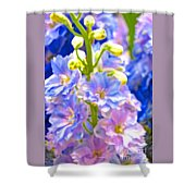 Flowers 40 Shower Curtain