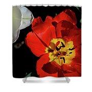 Flower 55 Shower Curtain