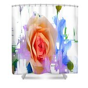 Flower 9296 Shower Curtain