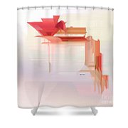 Flower 9322 Shower Curtain