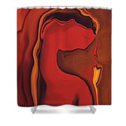 Flower And  Women Shower Curtain