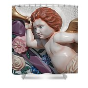 Flower Angel Shower Curtain