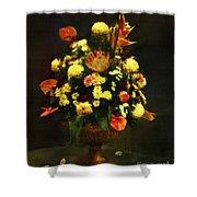 Flower Arrangement Shower Curtain