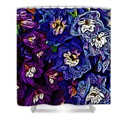 Flower Arrangement II Shower Curtain