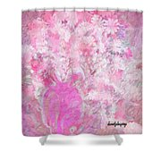 Flower Art The Scent Of Love Is In The Air Shower Curtain