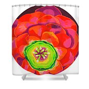 Flower Blossom Shower Curtain