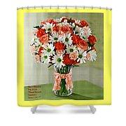 Flower Bouquet Creations Catus 1 No. 1 Shower Curtain