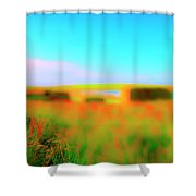Flower Boxes Shower Curtain