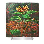 Flower Branch Shower Curtain