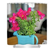 Flower Decoration Shower Curtain