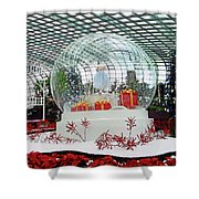Flower Dome 2 Shower Curtain