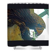 Flower Dome 27 Shower Curtain