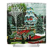 Flower Dome 29 Shower Curtain