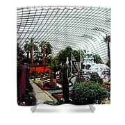 Flower Dome 3 Shower Curtain