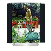 Flower Dome 31 Shower Curtain