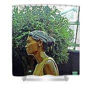 Flower Dome 33 Shower Curtain